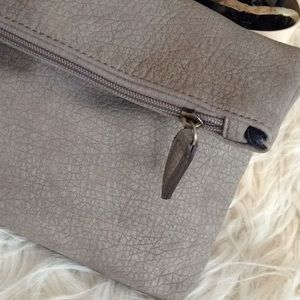 💞FREE PEOPLE💞vegan leather clutch